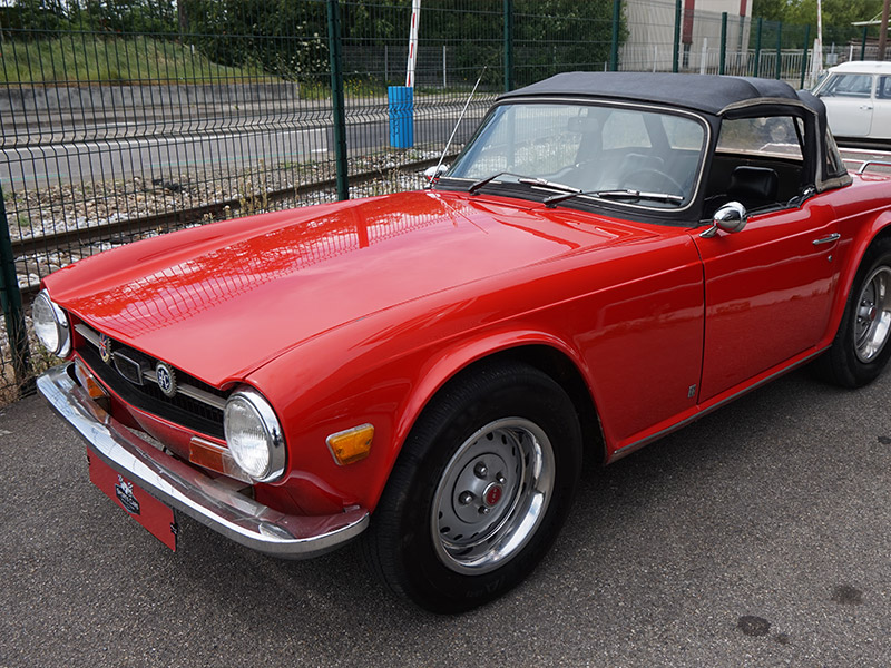 voiture anglaise Triumph Toulouse